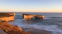 London bridge at great ocean road (~queequeg~) Tags: rock londonbridge waves australian greatoceanroad seashore