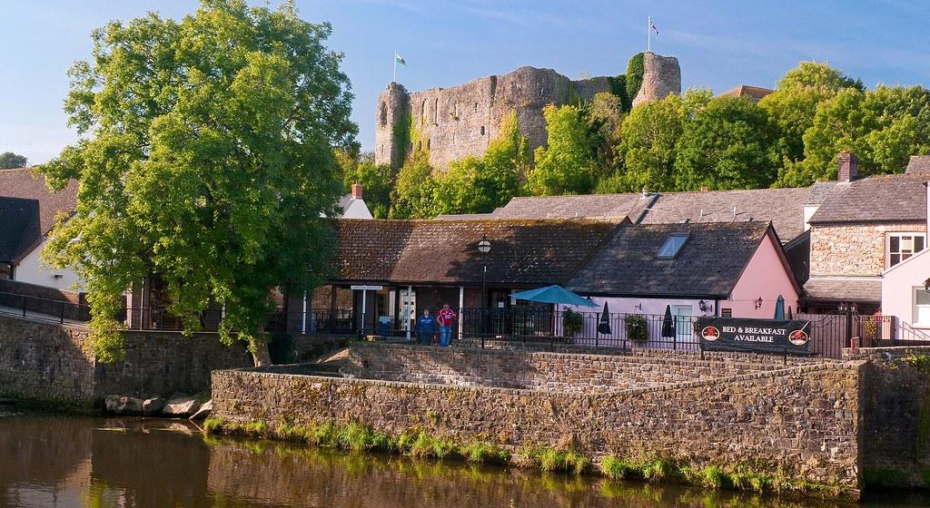 Haverfordwest Castle.Pembrokeshire.South West.Castles.Historic Sites