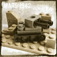 German Forces (andhe :-)) Tags: microscale lego ww2 tank
