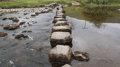 Stepping Stones (oatsy40) Tags: water river crossing stones stepping