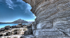 The Spectacular Elgol Cliff (charlieinlesmahagow) Tags: mountains skye beach boats scotland interesting fantastic great scottish photographic cliffs photogenic ecosse elgol elgolbeach elgolcliffs elgolbeached elgolgood elgolgreat
