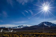 Geisers del Tatio III (Luiz Filipe M. Correia) Tags: chile gelo sol southamerica natureza paisagem cu atacama neve andes montanha geisers viagemdemoto
