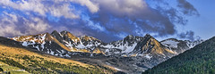 CUMBRES PIRENAICAS   -    PYRENEAN SUMMITS (Miquel Fabr) Tags: travel viaje trees sunset holiday mountains color grass clouds forest canon landscape atardecer europa europe arboles outdoor meadows paisaje panoramica nubes bluehour vacaciones andorra pyrenees montaas pirineo hierba bosques cumbres airelibre prados panoramicview summits horaazul gnneniyisithebestofday canoneos60d healinglightofthespirit miquelfabre