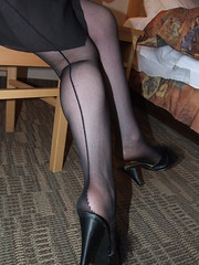 BlackSeamedStockings&Garter 022 (legandheel.lover) Tags: feet stockings pumps highheels legs lingerie wife heels ankles stilettos garterbelt seams blackseamedstockingsgarter