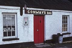 Conway's Bar (Shot Yield Photography) Tags: ireland irish film photography photo pub foto shot image picture irland eire kodachrome yield nikonf3 2016 ramelton conwaysbar shotyieldphotography