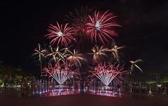 NDP Combined Rehearsal 1 - Fireworks, Singapore (gintks) Tags: reflection singapore fireworks singapur nationalday singaporeriver nationaldayparade 2016 kallangriver exploresingapore singaporetourismboard singaporesportshub kallangwave yoursingapore gintks gintaygintks