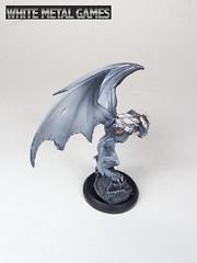 Reaper Gargoyles (whitemetalgames.com) Tags: red orange white green grey reaper bat large dragons pit gargoyle toad demon huge devil medium winged fiend dungeons pathfinder balor