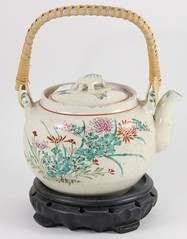 45. Chinese Decorated Teapot