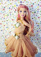 Lillet 2 (Alrunia) Tags: pink blue colour cute glitter hair toy rainbow doll dolls glow crystal handmade ooak barbie kitsch sparkle fairy glowing fairies fashiondoll mattel fairytopia restyle mermaidia jewelia glowingfairy 16thscale playscale playline barbiefairy