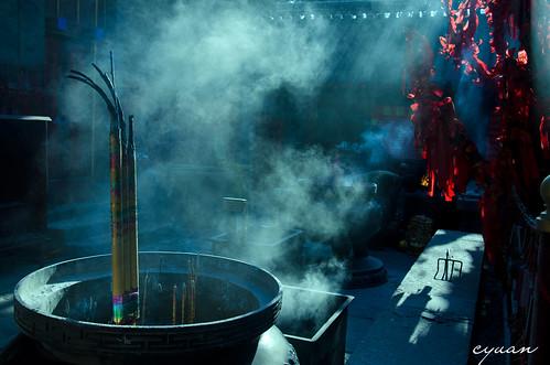 玉皇庙旺盛的香火