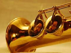 self portrait in B flat (ivanundici) Tags: selfportrait reflections autoritratto riflessi saxophone soprano bflat sassofono sibemolle ivanundici ivaneleven