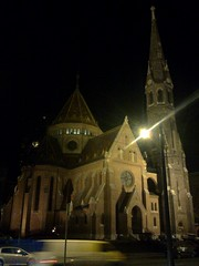Church at Buda section of Budapest