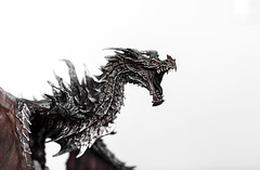 Skyrim Collectors Edition Statue (Eric Kilby) Tags: statue dragon spiny collectorsedition skyrim alduin elderscrollsv