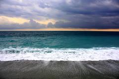 Thunder on the sea (annalisabianchetti) Tags: sea mare thunder temporale