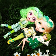 Blythe-a-Day May: Day 4 Green