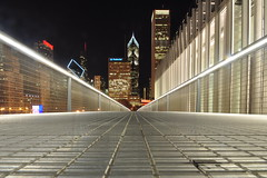 View From Nichols Bridgeway (Seth Oliver Photographic Art) Tags: nightphotography chicago buildings landscapes illinois nikon midwest skyscrapers iso400 cities cityscapes bridges artinstituteofchicago nightshots theloop chicagoatnight pinoy nightscapes chicagoskyline urbanscapes secondcity windycity longexposures chicagoist d90 15secondexposure nightexposures cityofbigshoulders sooc manualmodeexposure nicholsbridgeway lowperspectiveshot setholiver1 aperturef140 circularpolarizers 1024mmtamronuwalens timedelaytriggeredshot camerasetonground