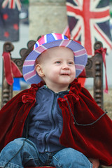 Prince William at the Diamond Jubilee #3 (s0ulsurfing) Tags: boy party portrait baby cute face canon fun 50mm eyes toddler infant king babies faces head expression availablelight ambientlight jubilee flag innocent expressions adorable ears prince william dressingup isleofwight 7d quizzical innocence ambient crown relaxed infants unionjack oneyearold throne minime 2012 fofinho streetparty diamondjubilee s0ulsurfing familyuk gettyimagesportraits gettyjubileemon