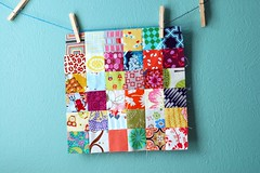 BaMS: May (jaceycraft) Tags: sewing postagestamp bams quiltblocks beeblocks
