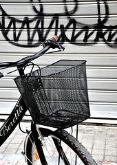 city life, cycling life (dimitra_milaiou) Tags: world life street city people white black love ecology bike shop greek graffiti cycling design living town nikon europe closed day earth d centre hellas save greece planet 90 economy crisis peloponesse bycicle beretta patra peloponissos hellenic d90 achaea achaia         milaiou