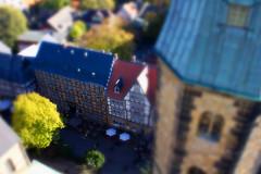Brauhaus Goslar im Miniaturformat (juemro) Tags: panorama eos kirche stadt blick harz weltkulturerbe goslar miniatur 550d canom juemro