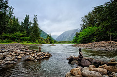 Waipio Big Island  [EXPLORED] (HawaiianVirtualTours) Tags: coast fishing nikon rocks stream valley waipio hamakua oceanfront bigislandofhawaii nikond7000 theoriginalgoldseal mygearandme hawaiianvirtualtours