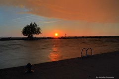 niagara sunset (Rex Montalban Photography) Tags: sunset niagara stcatharines hdr hdri portdalhousie photomatix rexmontalbanphotography