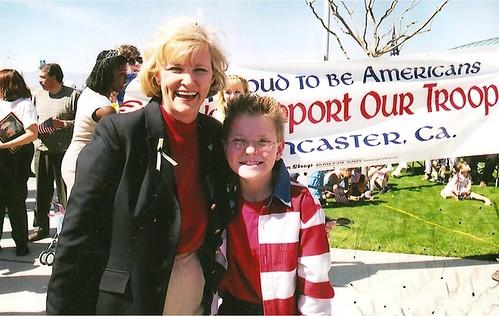 Jacob Nelson and Assemblywoman Sharon Runner