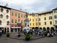 Piazza Paolo Diacono, Cividale, Italy (Paul McClure DC) Tags: italy architecture italia historic friuli cividale friuliveneziagiulia cividaledelfriuli june2012