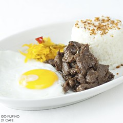 Go Filipino - Food Bacolod City (mdeguzman) Tags: city food breakfast photography restaurant photo md nikon photographer rice beef philippines egg eat garlic filipino tapa dine bacolod sunnysideup pinoy silay namit foodie d90 negrosoccidental achara silaycity atsara 21cafe mdphoto mdeguzman gohotels mdeguzmanphoto photographersilay
