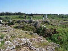 Amrit (Marathos) (The Armatura Press) Tags: greek temple stadium syria tombs amrit phoenician achaemenid canaanite arvad arwad amrith marathos towertombs marathus neophoenician maabed maghazel