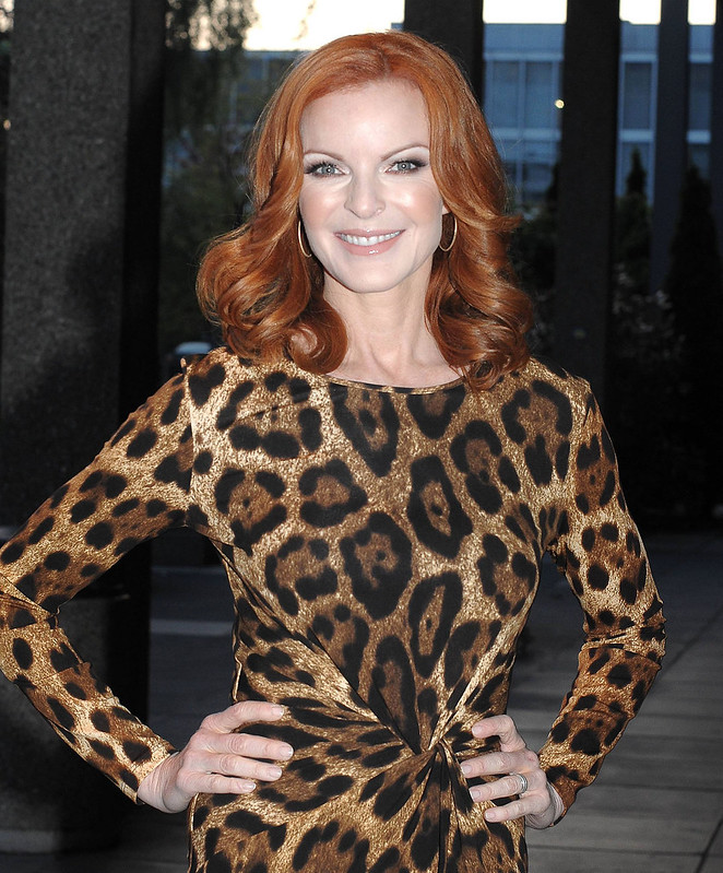 Marcia Cross Celebrities outside the RTE studios for \'The Saturday Night Show\' Dublin, Ireland - 19.05.12 Mandatory Credit: WENN.com