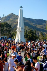 Griffith Observatory right before the partial eclipse (Daniel Pouliot) Tags: bigparadela2012 california griffithobservatory hollywood la losangeles losfeliz partialeclipse2012 ringoffire