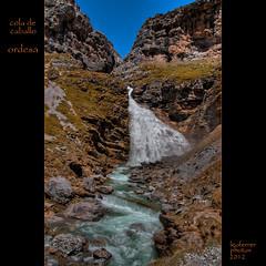 Cascada de Soaso o Cola de caballo (a 1.850 m. altitud)- Valle de Ordesa (Leo Ferrer) Tags: de caballo cola valle pirineos ordesa monteperdido torla nikond90 leoferrer amicsdelacàmera afsueca afcastellò