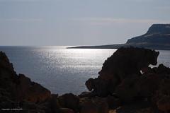 Rock Animal near Cape Greco (Holfo) Tags: ocean sea sunlight seascape silhouette rock landscape bay nikon mediterranean cyprus seaview shimmering cypriot d40 capegreco