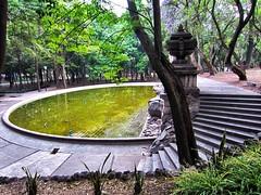 Fuete de la Templanza (Cass_soul) Tags: parque verde de mexico lago 1 la df mayor fuente ciudad paseo bosque federal 1 primera menor pais chapultepec distrito ecologico seccion chilangolandia templanza