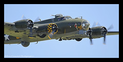 SALLY - B (Wings & Wheels Photography.) Tags: duxford flyingfortress bdp cambridgeshire 2012 imperialwarmuseum iwm sallyb memphisbelle boeingb17g canoneos7d bluediamondphotographic jubileeairshow