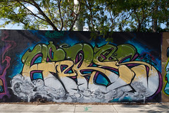 aires (ExcuseMySarcasm) Tags: streetart art graffiti florida miami aires touch sect wynwood guerrillaart excusemysarcasm
