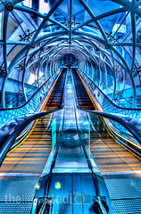 Fusion Escalator (Edward Tian) Tags: singapore escalator hdr