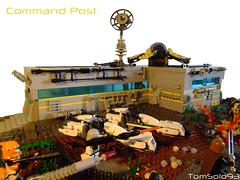 LEGO Star Wars - Republic Outpost on Yavin IV (Command Post) (TomSolo93) Tags: star republic lego wars iv yavin outpost tomsolo93