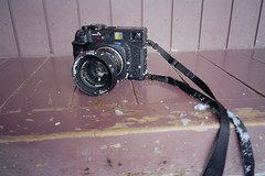 Mamiya7II, Snowed (Takeshi Nishio) Tags: 28mm   minoltatc1   fujipro400  filmno331