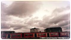 South London clouds through Aviary (dksesh) Tags: seshadri dhanakoti harirasya haritasa seshadrifamily ccgmar2014