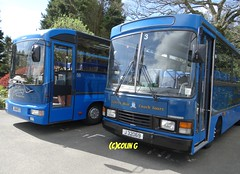 Tantivy 59 & 3 (Coco the Jerzee Busman) Tags: uk bus ford islands coach pointer transit cannon jersey swift channel leyland stringer wadham lcb plaxton tantivy