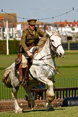 War Horse (McShug) Tags: canon sussex war eastbourne 5d ww1 fortress 70200 reenactment wold redoubt