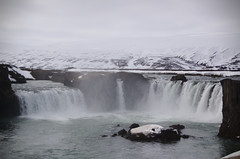 Goafoss (JimLeach89) Tags: travel holiday snow nature digital rural landscape outside outdoors countryside iceland nikon scenery exterior view natural dslr d40 nikond40 d40x d40d40x