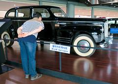 Don't Get In (Mondmann) Tags: history car museum asia exhibit limo exhibition seoul vehicle dictator southkorea artifact curiosity limousine rok northkorea koreanwar eastasia dprk republicofkorea warmemorialmuseum kimilsung mondmann dontgetin canonpowershotg7x