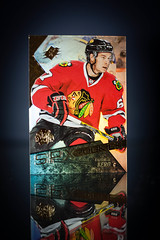 Tanner Kero SPX (cdn_jets_cards) Tags: ice sports hockey cards marquee nhl foil 123 deck upper sp tanner kero rc rookie rookies spx nhlpa 201516
