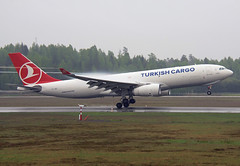 TC-JDS (Skidmarks_1) Tags: norway airport aircraft aviation cargo airliners osl freighter engm airbusa330 turkishairlines oslogardermoenairport tcjds