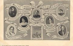 The World's WCTU Seventh Tri-Ennial Convention - Boston, Massachusetts (The Cardboard America Archives) Tags: women 1906 prohibition temperance covention wctu