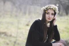 spring (Penescu Marius) Tags: flowers flower green girl beautiful grass 50mm spring natural lovely 18 50mm18 girn girlin girlportrait girlinnature girlingrass flowersinthehead canoneos1100d