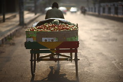 Tomato Haze (N A Y E E M) Tags: street morning light haze raw tomatoes windshield untouched bangladesh unedited chittagong sooc rickshawvan navalavenue